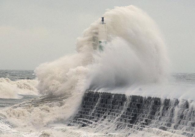 La tempête Eleanor