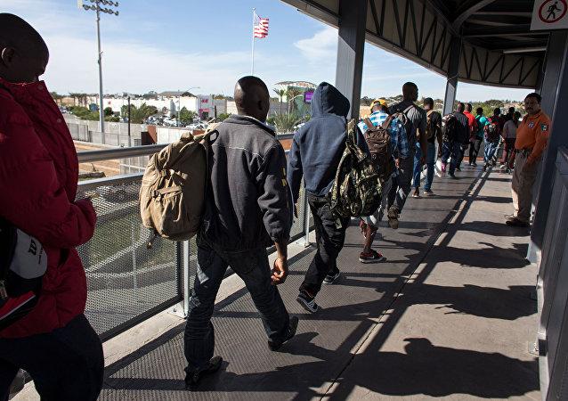Migrants. Photo d'archive