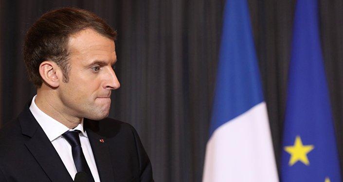 Emmanuel Macron. Photo d'archive