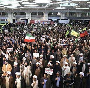Émeutes à Téhéran le samedi 30 décembre 2017
