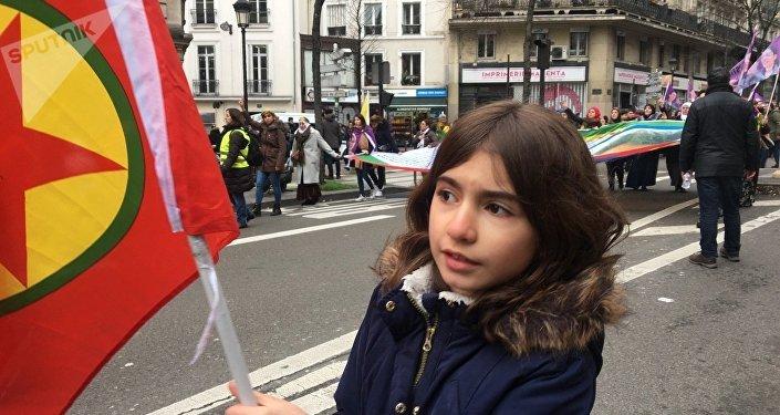 Manif en hommage aux militantes kurdes tuées à Paris