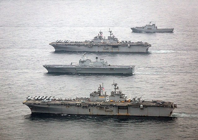 Des navires de guerre américains participent à des exercices avec la Corée du Sud