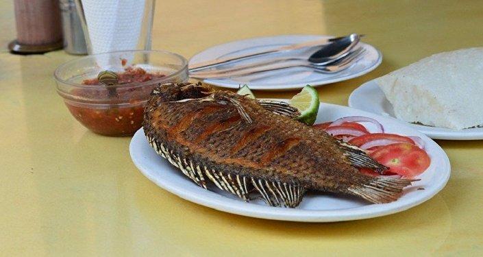 Un poisson cuit
