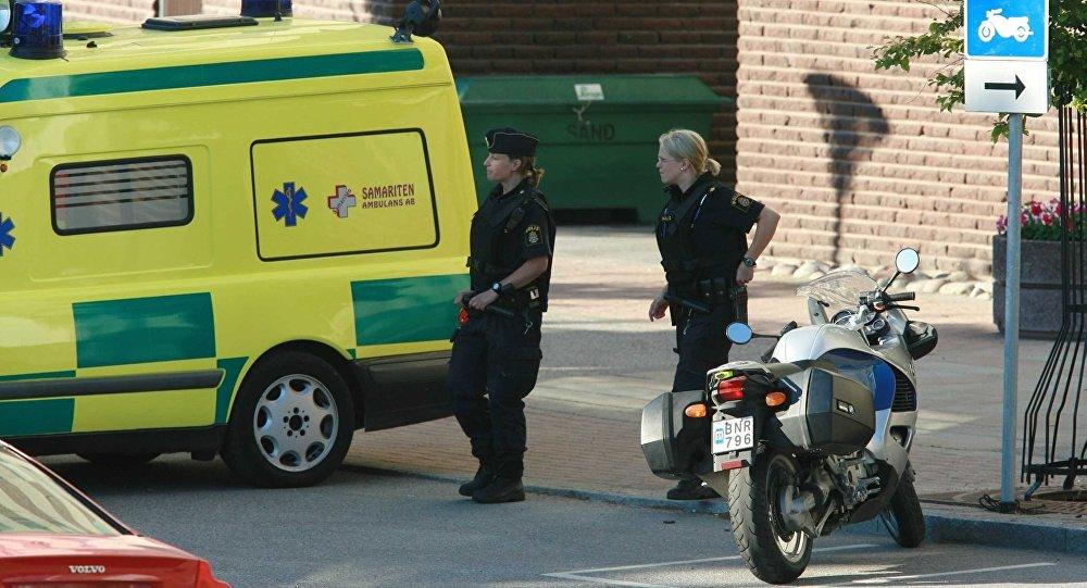 Deux blessés à la suite d'une explosion à l'entrée d'une station de métro à Stockholm