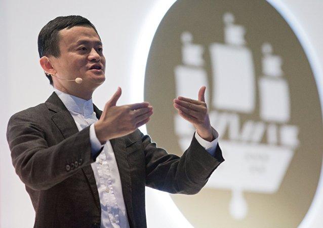 Jack Ma, fondateur d'Alibaba