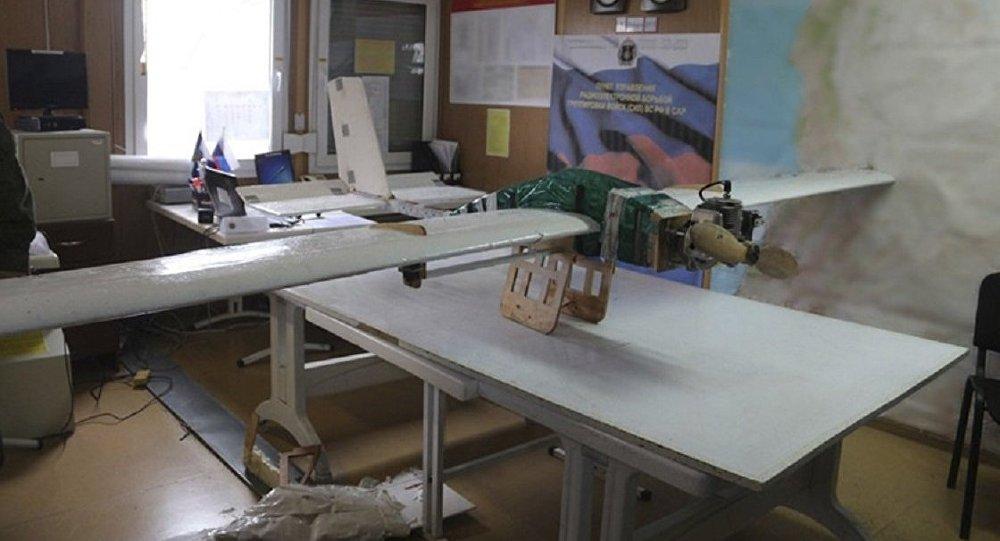 une attaque terroriste massive de drones ciblant la base aérienne de Hmeimim