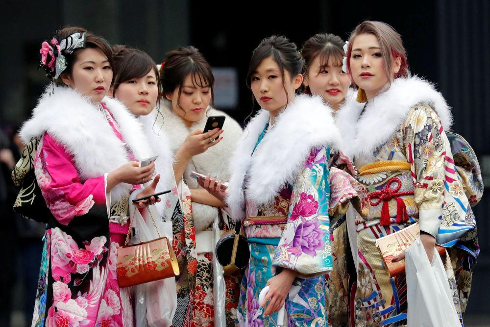 La cérémonie d'entrée à l'âge adulte au Japon