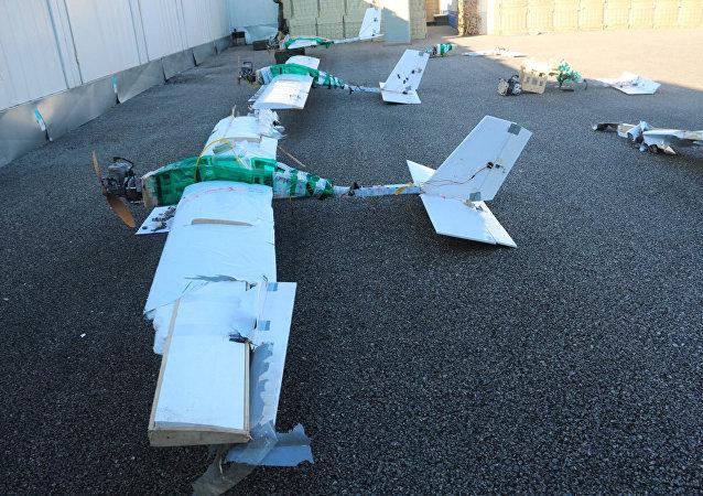 Les drones lancés contre les bases russes en Syrie