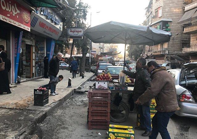 Alep, en Syrie