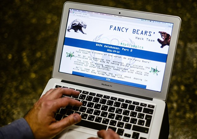 Le site du groupe des cyberpirates Fancy Bears