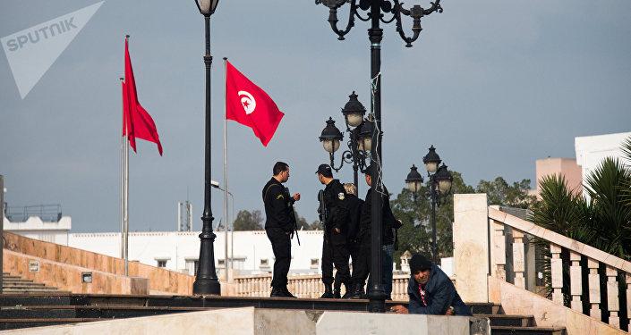 Police en Tunisie. Photo d'archive