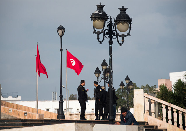 Police en Tunisie. Photo d'archive