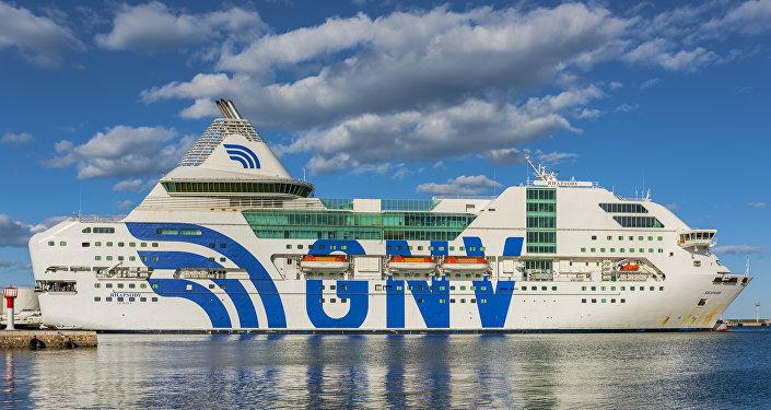 Ferry Rhapsody de la empresa italiana GNV