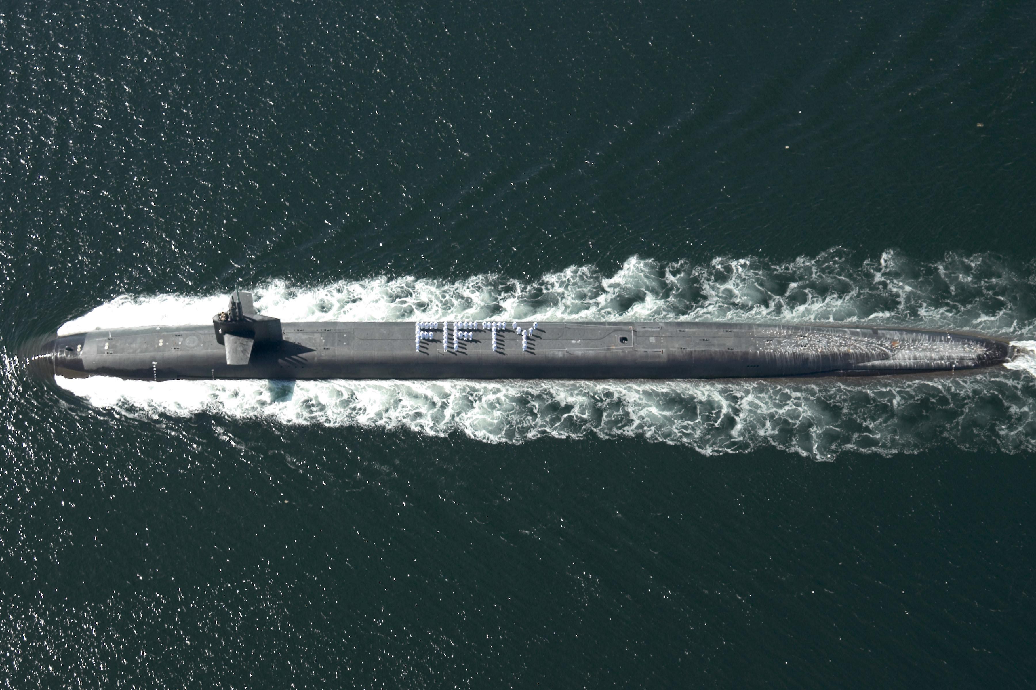 Un sous-marin américain de la classe Ohio