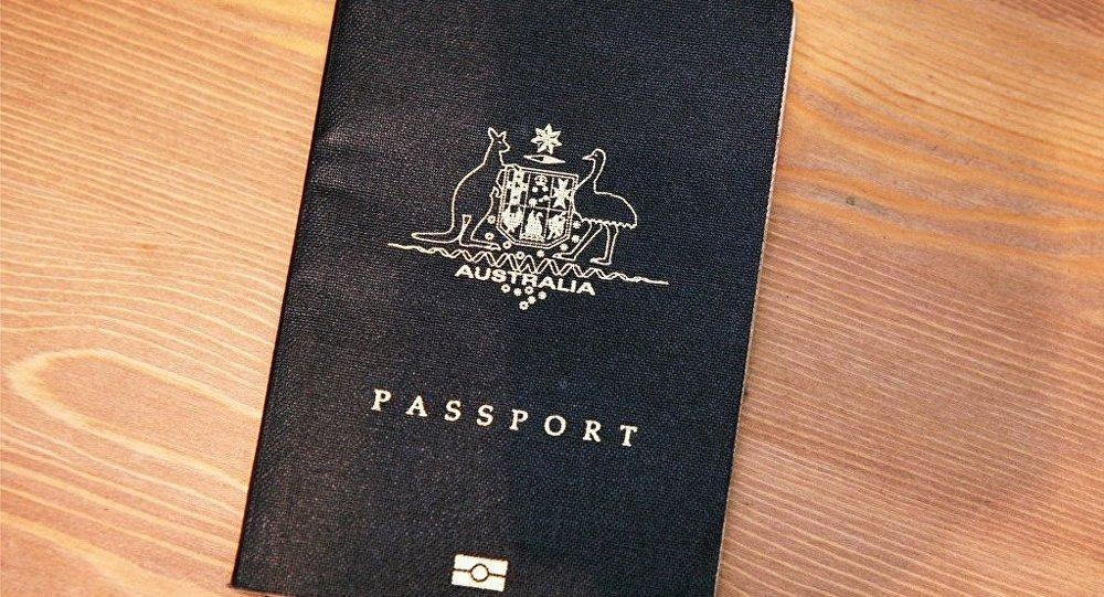 Un passeport australien