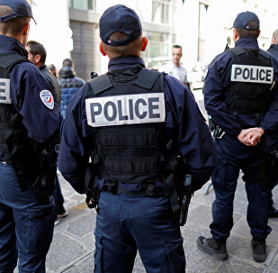 Police française. Photo d'archive