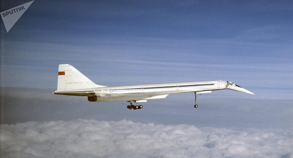 Un Tupolev Tu-144