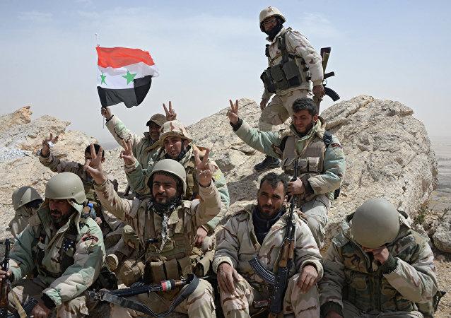 Des soldats syriens