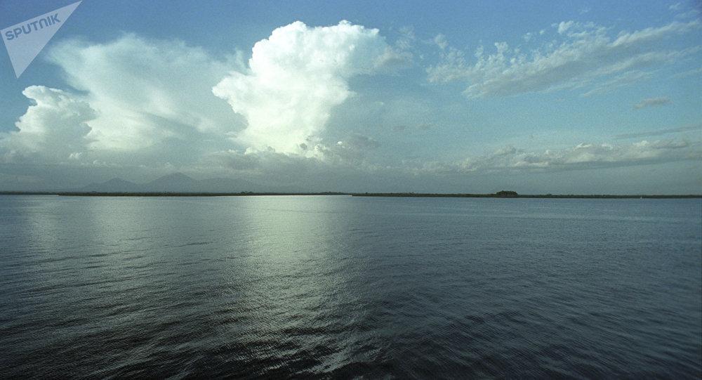 l'océan Pacifique, au large du Nicaragua