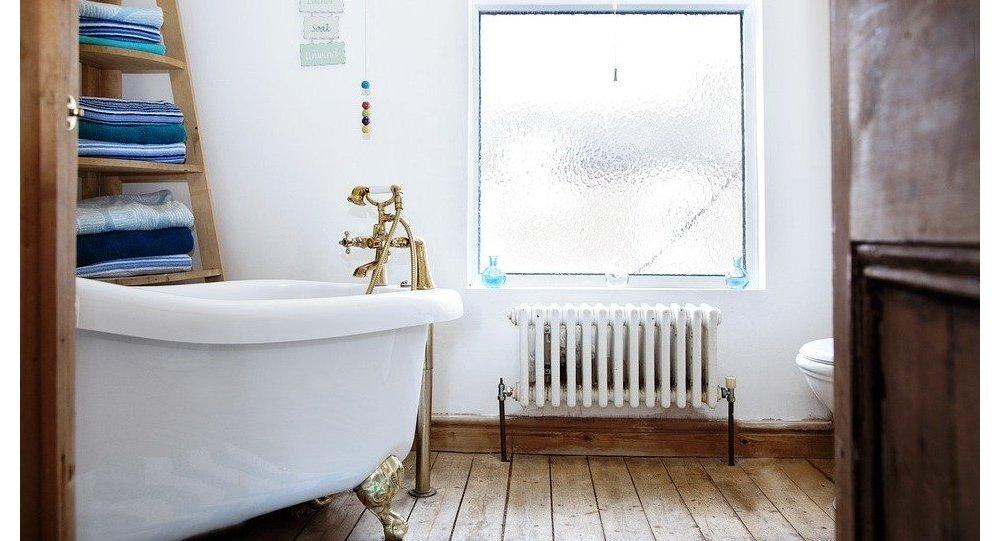 Une baignoire