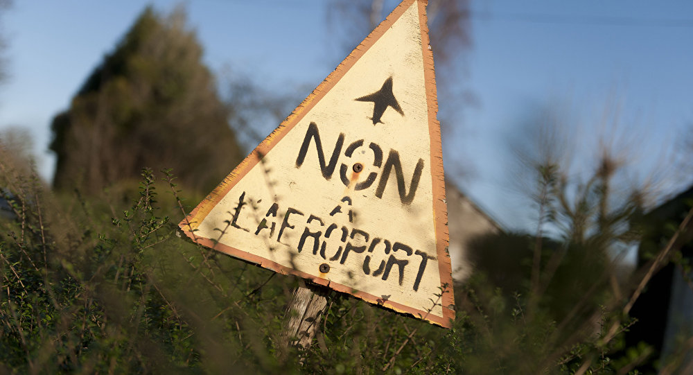 Manifestation contre l'aéroport Notre-Dame-des-Landes