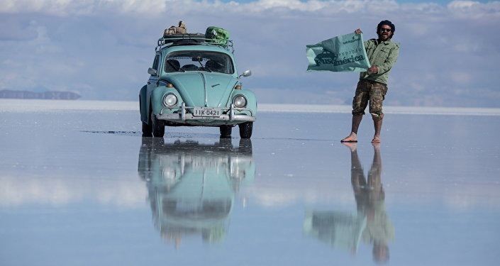 Mondial 2018: des Brésiliens découvriront la Russie à bord d'une vieille Ford Coccinelle
