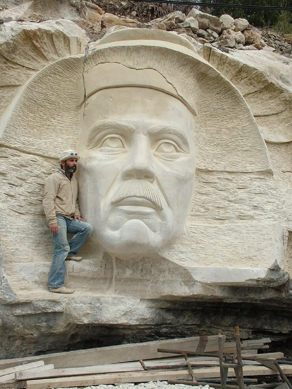 Le plus grand bas-relief du monde arabe inauguré en Syrie