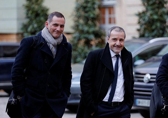 Gilles Simeoni et Jean-Guy Talamoni
