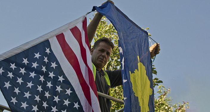 Une «révolution de couleur»… au Kosovo?
