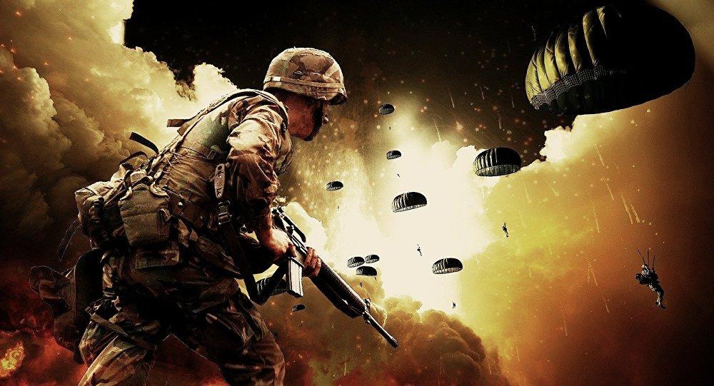 Un soldat, image d'illustration