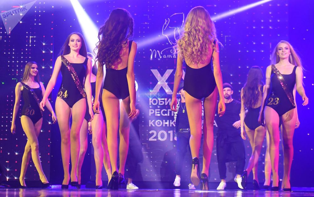 Finalistes du concours Miss Tatarstan 2018