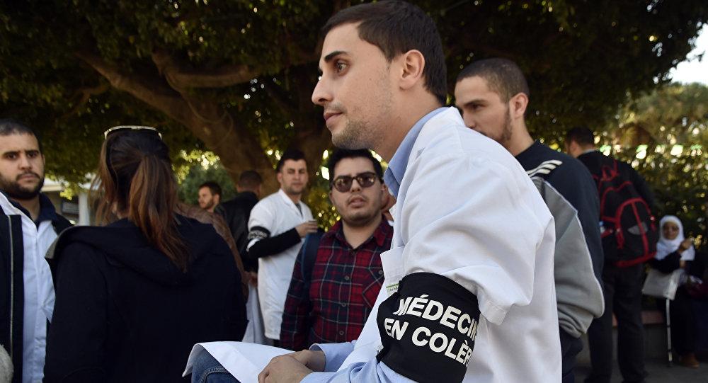 Les grèves de médecins, Alger