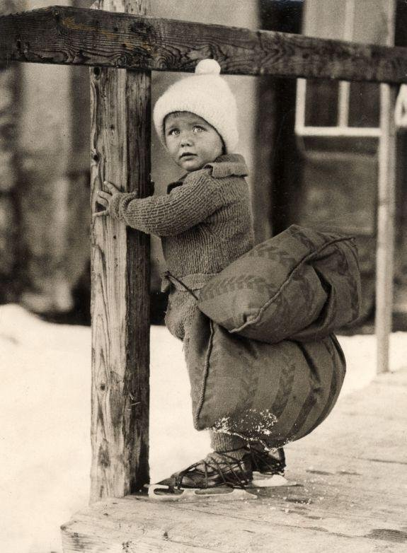 Des loisirs d'hiver style rétro, en images