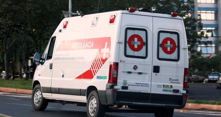 Ambulance brésilienne
