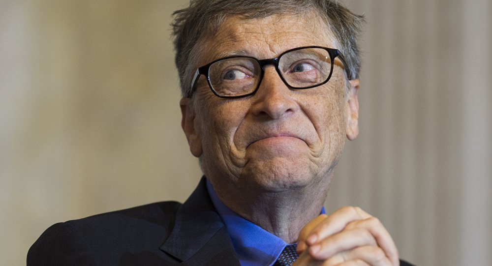Bill Gates, cofundador de la empresa Microsoft