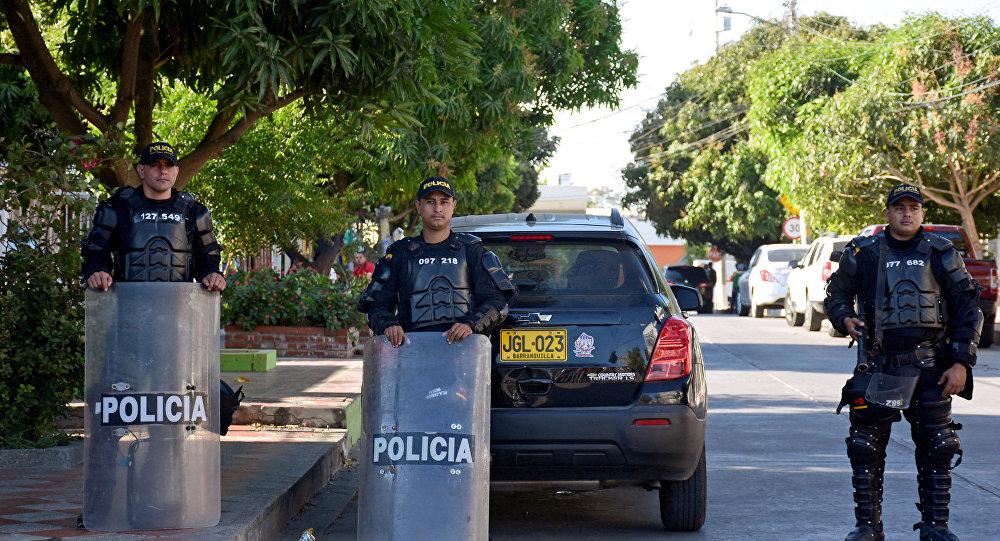 La police de Barranquilla