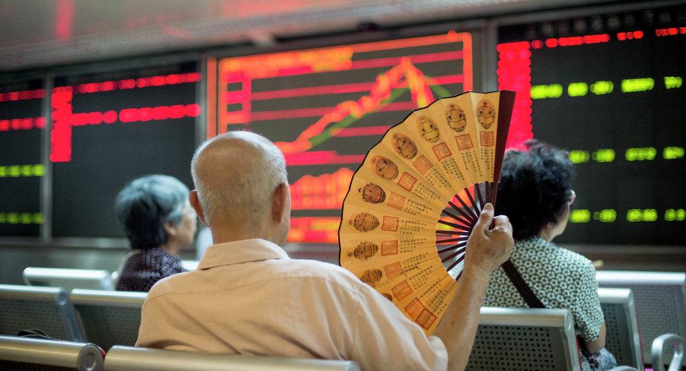 Bourse de Pékin. Photo d'archive