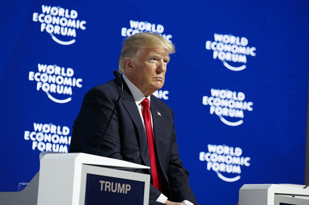 Donald Trump au forum de Davos 2018