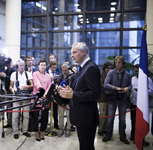 Bruno Le Maire. Photo d'archive