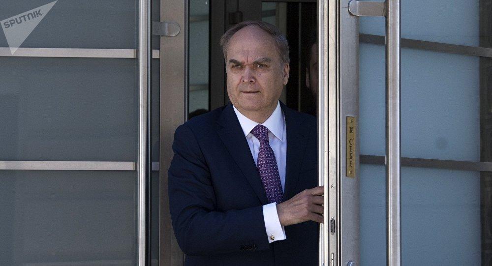 L'ambassadeur russe Anatoli Antonov