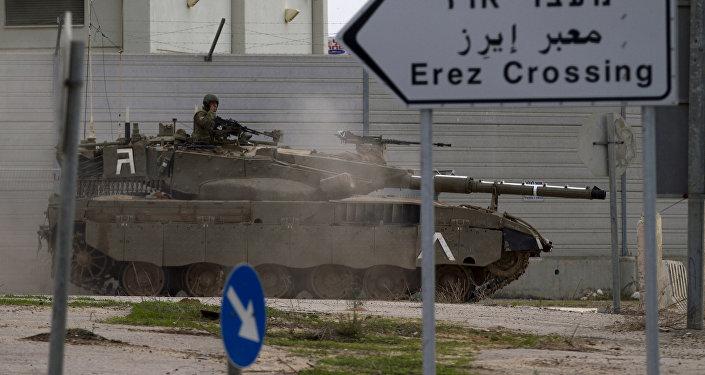 Des soldats visés près de Gaza — Israël