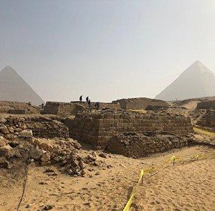 Une tombe antique mise au jour en Égypte