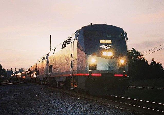 Un train Amtrak
