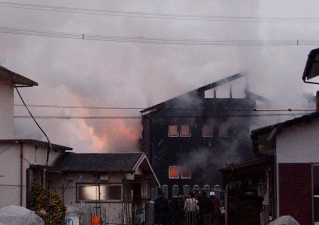 Crash de l'hélicoptère Apache au Japon