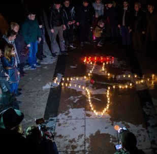 Hommage au pilote russe tué en Syrie
