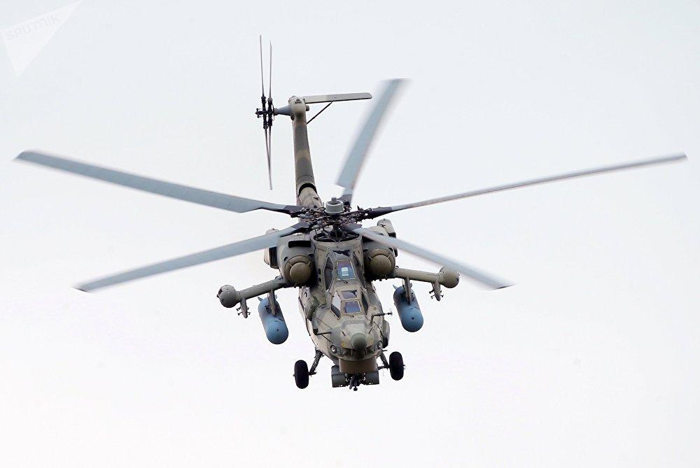 Un hélicoptère Mi-28N