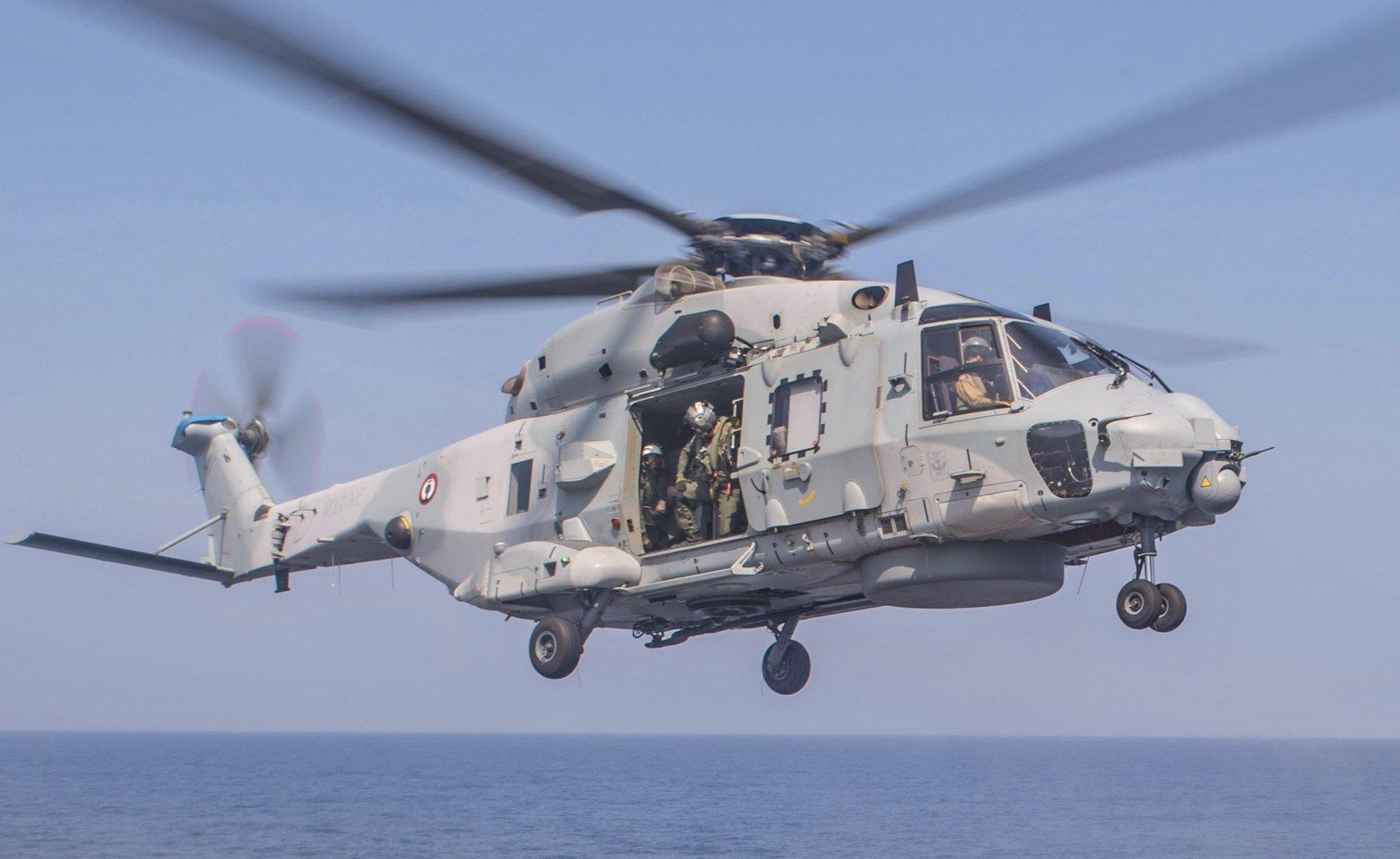 Un hélicoptère NH90