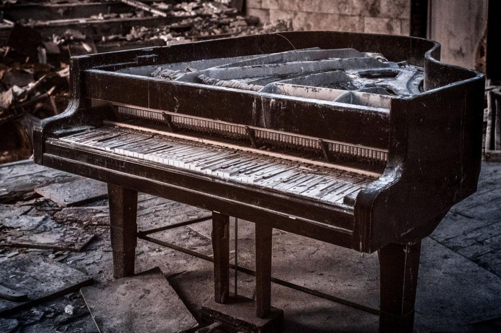 La zone de Tchernobyl en photos insolites