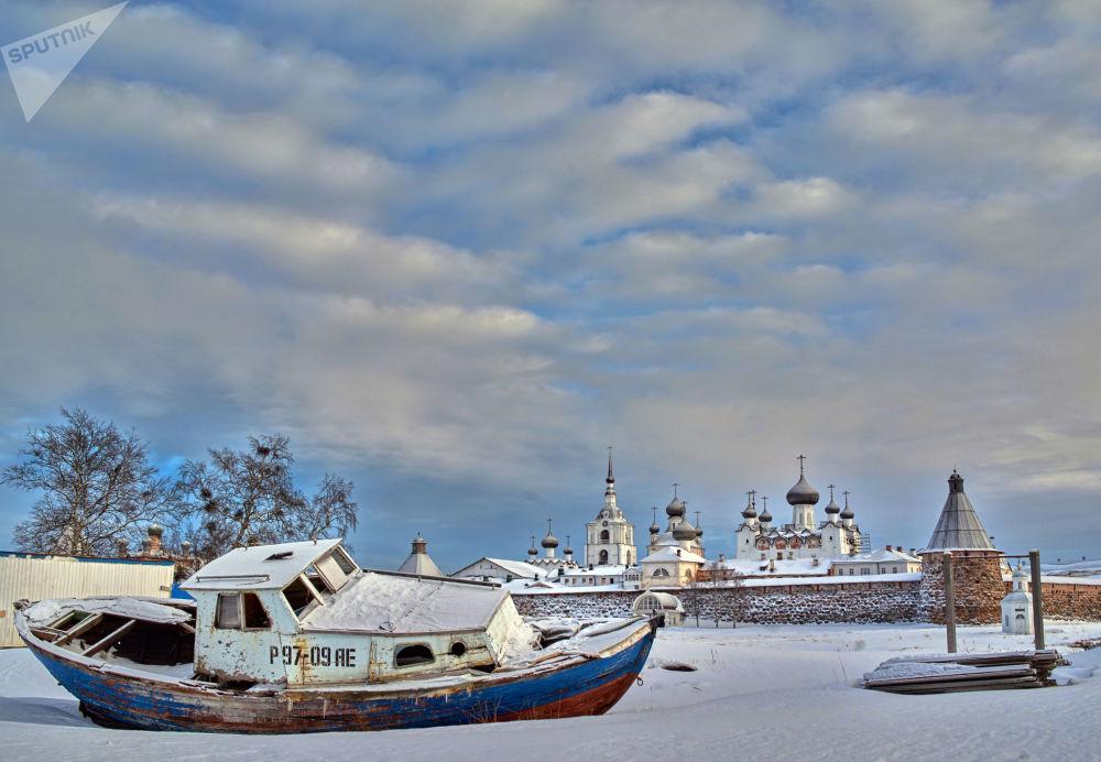 L'hiver aux îles Solovki