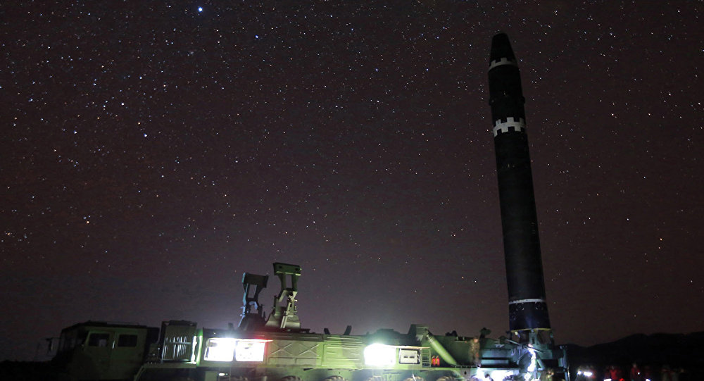 Hwasong-15, missile balistique intercontinental